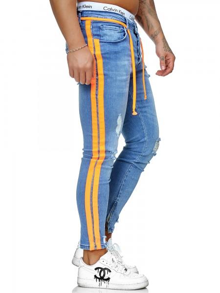 Herren Jeans Hose Slim Fit Männer Skinny Denim Designerjeans KO3008J-BO-ST