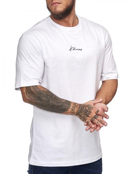 Herren T-Shirt Poloshirt Shirt Kurzarm Printshirt Polo Kurzarm KO201901COBRA