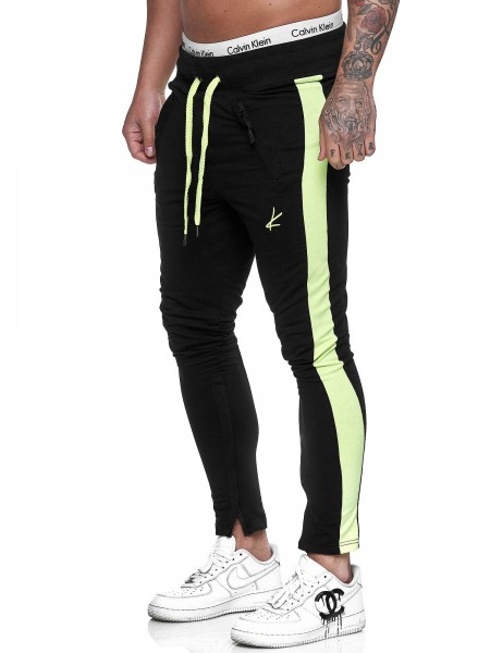 Koburas Herren Jogging Hose Jogger Streetwear Sporthose Fitness Clubwear KO-1091-JG