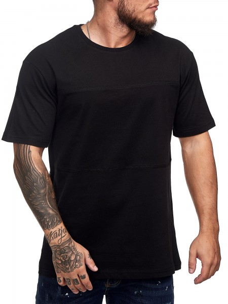 Herren T-Shirt Poloshirt Shirt Kurzarm Printshirt Polo Kurzarm K0815