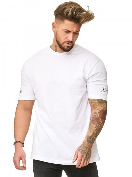 Herren T-Shirt Poloshirt Shirt Kurzarm Printshirt Polo Kurzarm KO19-T5