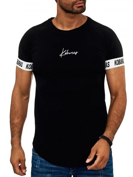 Koburas Herren T Shirt Poloshirt Polo Longsleeve Kurzarm Shirt Modell 2173