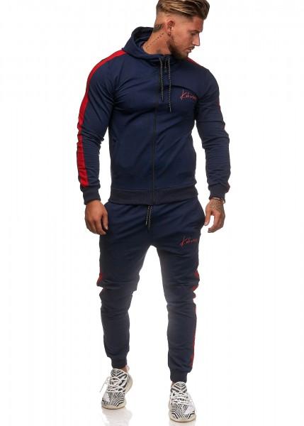 Herren Jogginganzug Trainingsanzug Sportanzug Fitness Streetwear KO3392