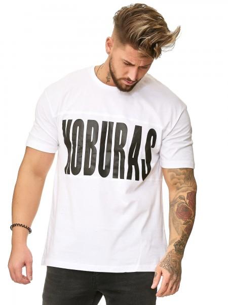 Herren T-Shirt Poloshirt Shirt Kurzarm Printshirt Polo Kurzarm KO19-T2