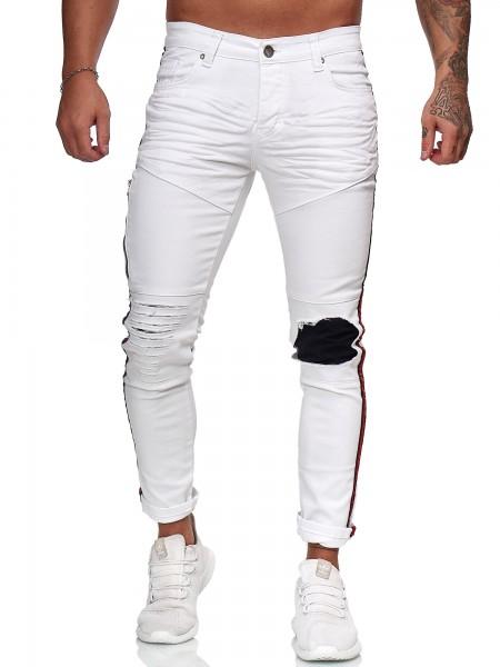 Herren Jeans Hose Slim Fit Männer Skinny Denim Designerjeans KO5146